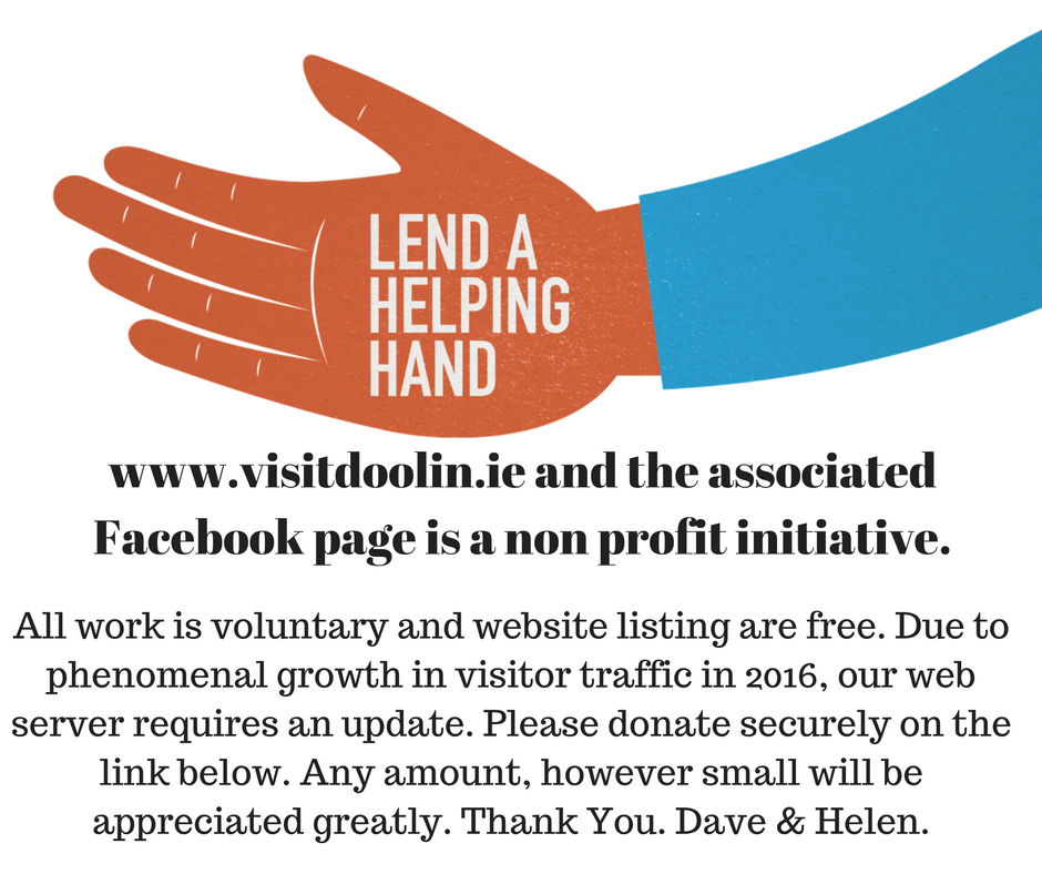 www.visitdoolin.ie and the associated Facebook page is a non profit initiative. (1)